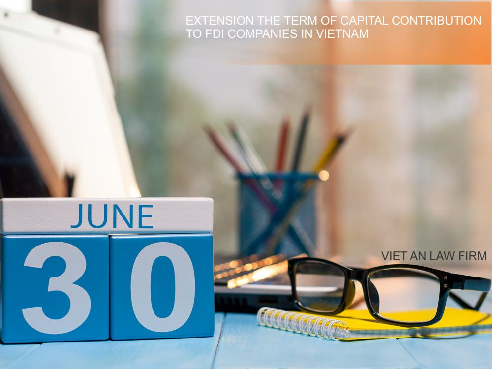 Extension the term of capital contribution