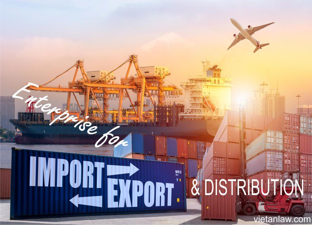 enterprise for export, import, distribution