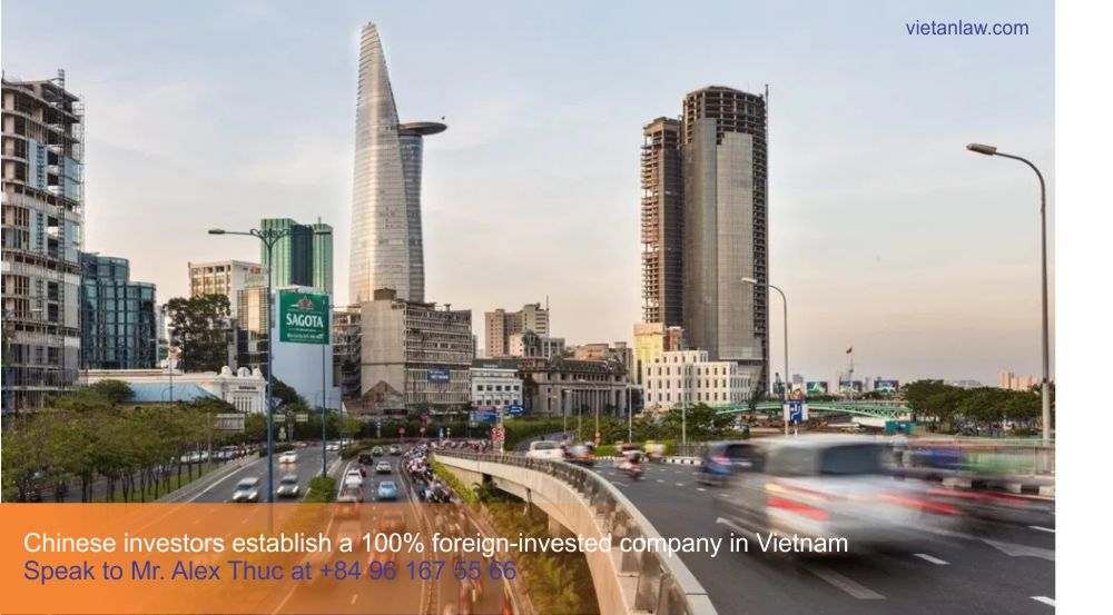 Chinese investors establish a 100% foreign-invested company in Vietnam