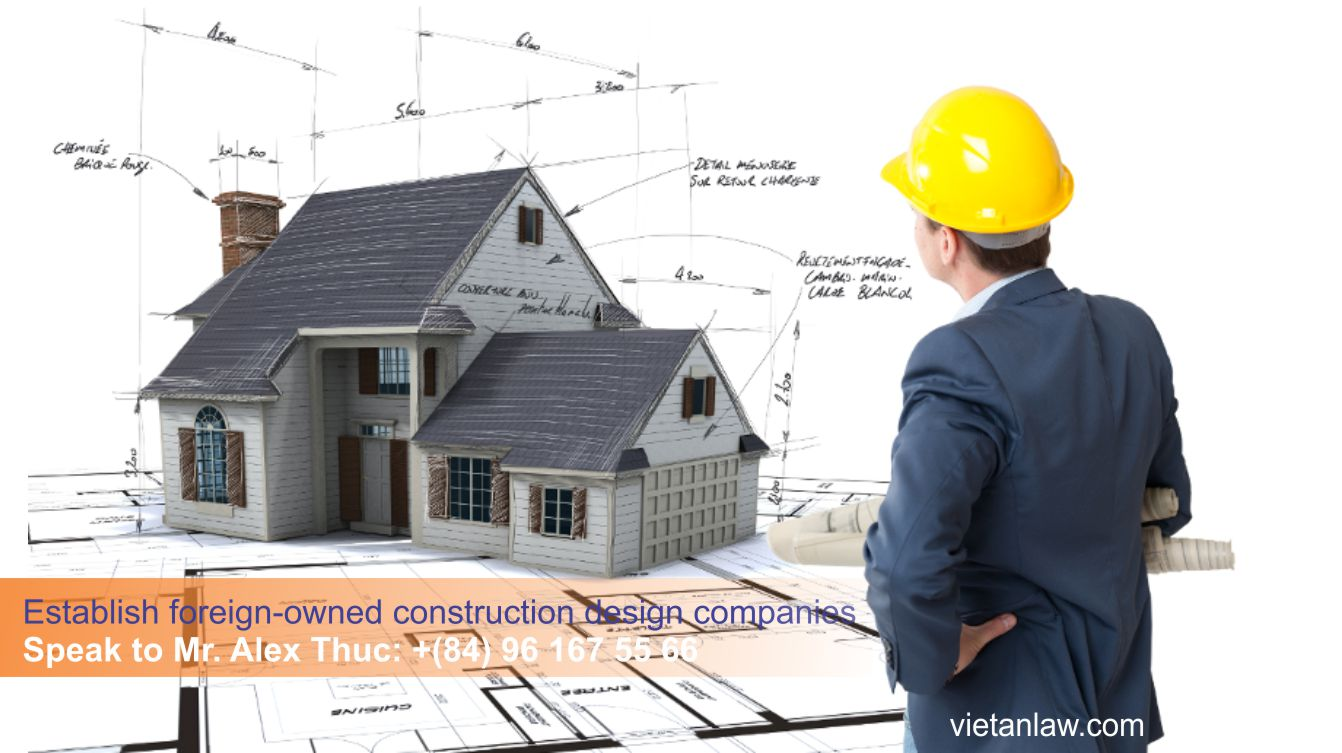 Establish foreign-owned construction design companies