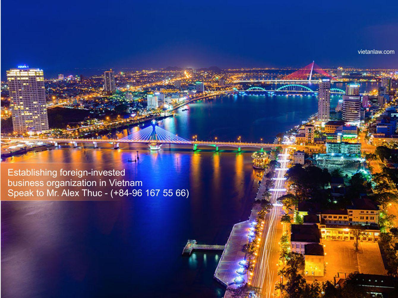 Establishing foreign-invested business organization in Vietnam-Alex