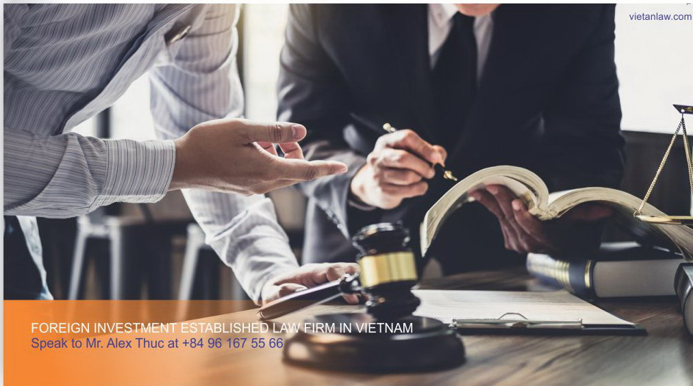 Foreign investment established law firm in Vietnam moi