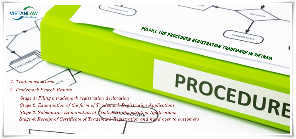 Fulfil trademark registration in VN