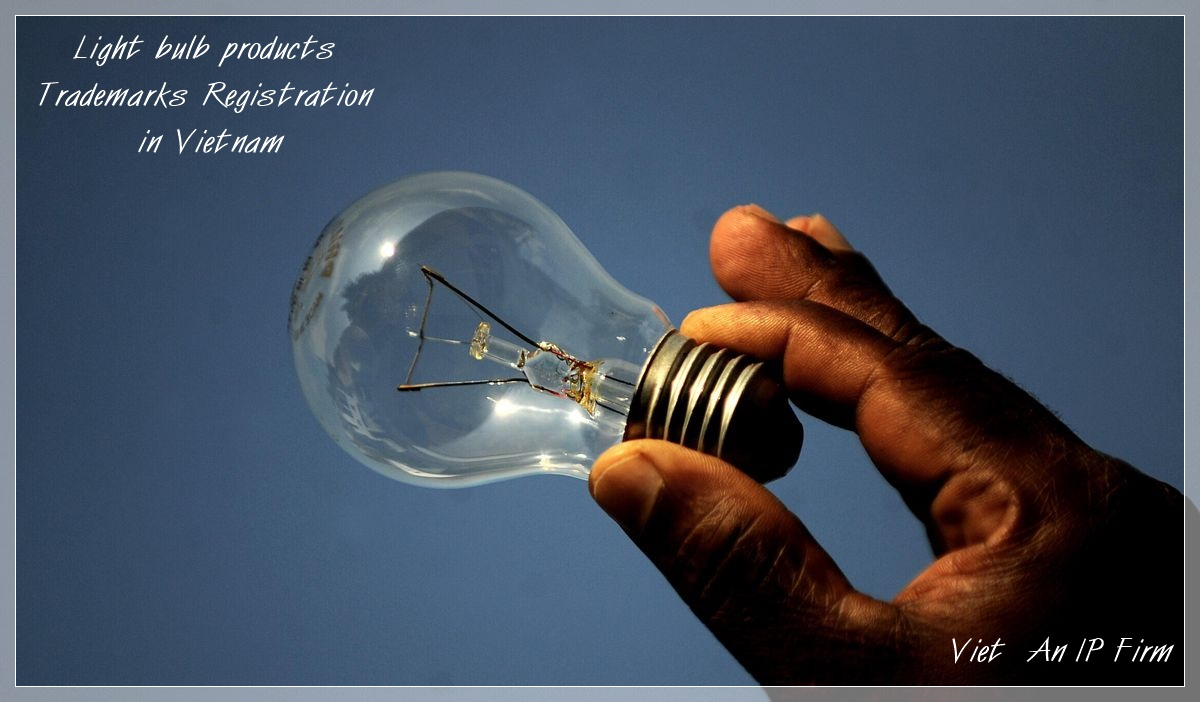 Light bulb products Trademarks Registration in Vietnam