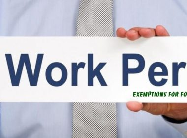 The typical work permit exemptions for foreigners in Vietnam