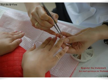 Register the trademark for nail services in Vietnam