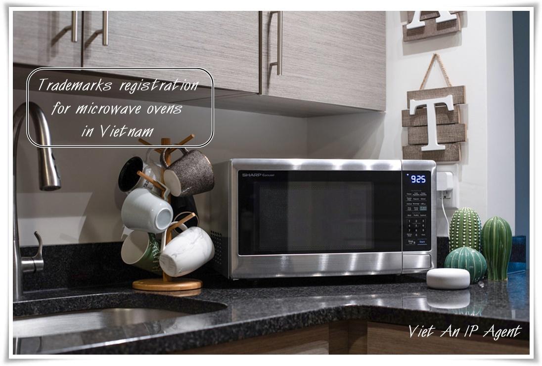 Trademarks registration for microwave ovens in Vietnam - VA