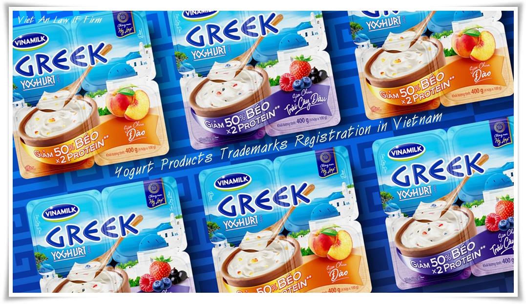 Yogurt Products Trademarks Registration in Vietnam