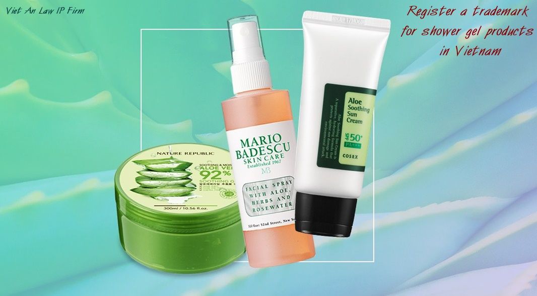 shower gel products in Vietnam