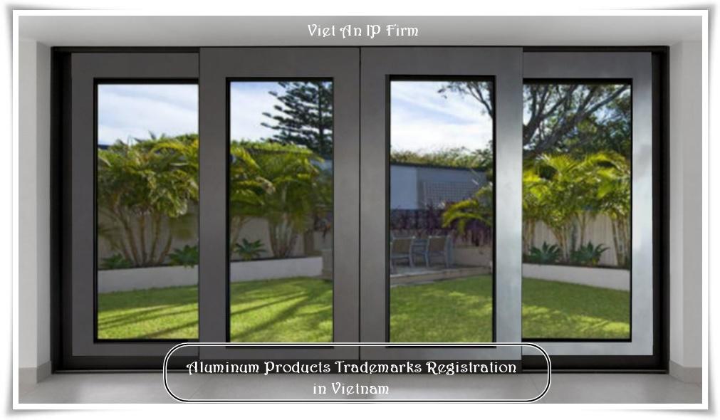 Aluminum door trademark registration