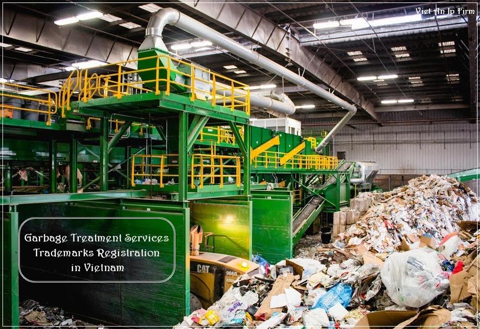 Garbage Treatment Services Trademarks Registration in Vietnam
