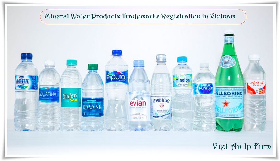 Mineral Water Products Trademarks Registration in Vietnam