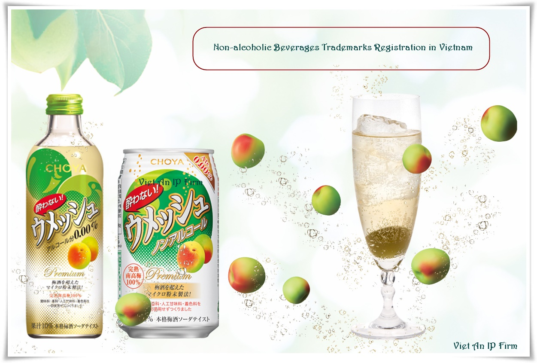 Non-alcoholic Beverages Trademarks Registration in Vietnam