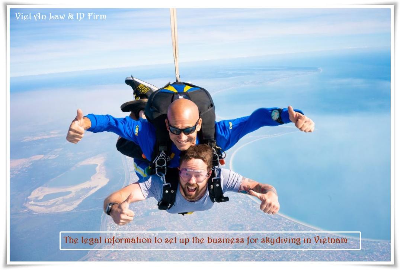 Skydiving in Vietnam